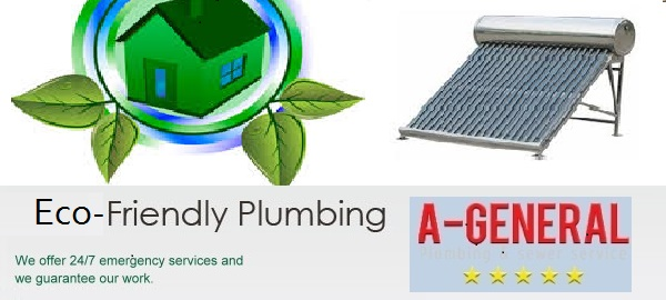 Go Eco-friendly with your Plumbing System