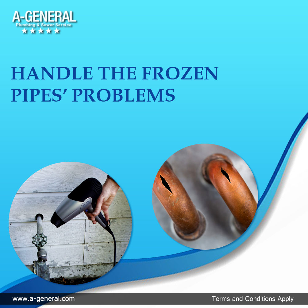 How to Handle the Frozen Pipe's Problems