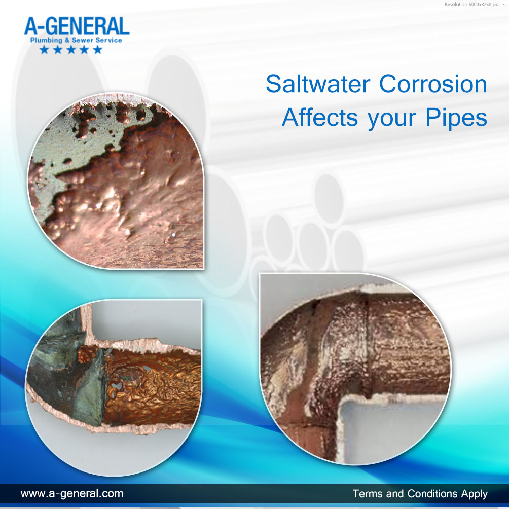 Saltwater Corrosion Affects your Pipes The Most