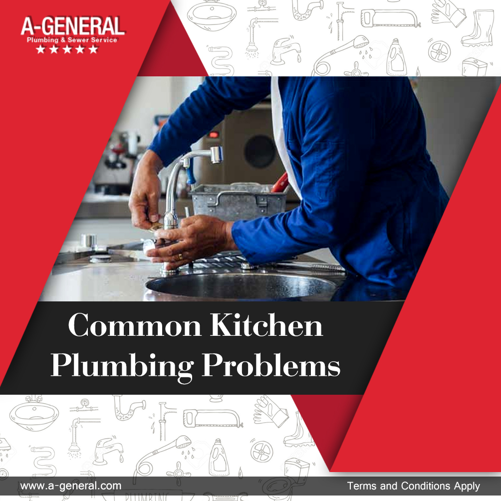 What are the most common kitchen plumbing problems?
