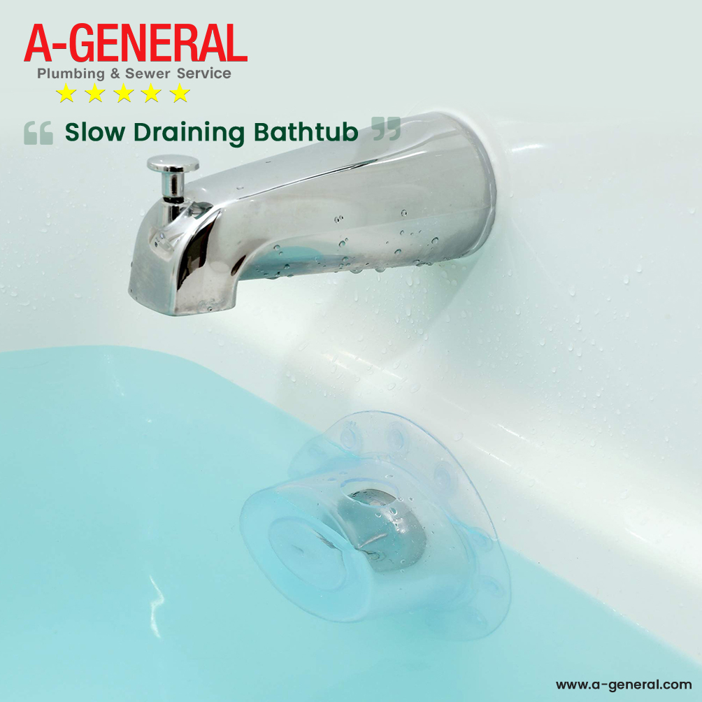 Tips To Fix a Slow Draining Bathtub