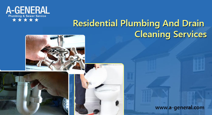 What Comes Under Residential Plumbing And Drain Cleaning Services!