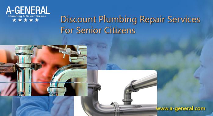 Discount Plumbing Repair Services For Senior Citizens