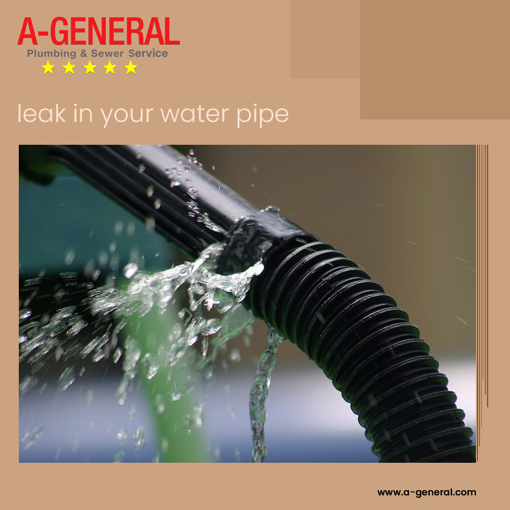 A Leak In Your Water Pipe Could Lead To A Disaster!