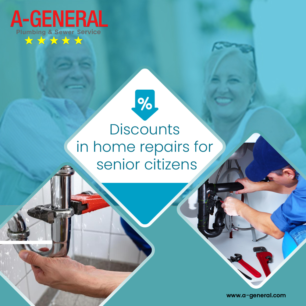 Discounts In Home Repairs For Senior Citizens!