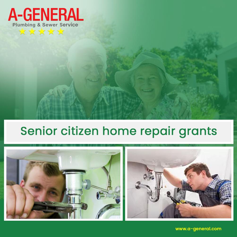 Senior Citizen Home Repair Grants