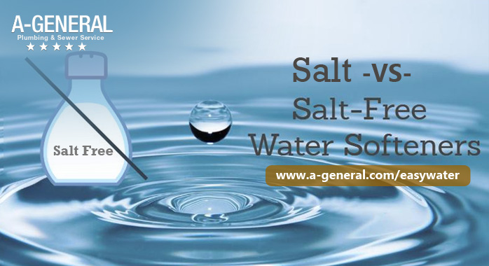 Salt -vs- Salt Free Water Softeners