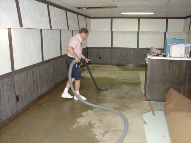Flood conditions can damage your sewage system