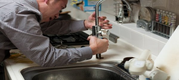 How to clear a clogged drain of a kitchen sink?