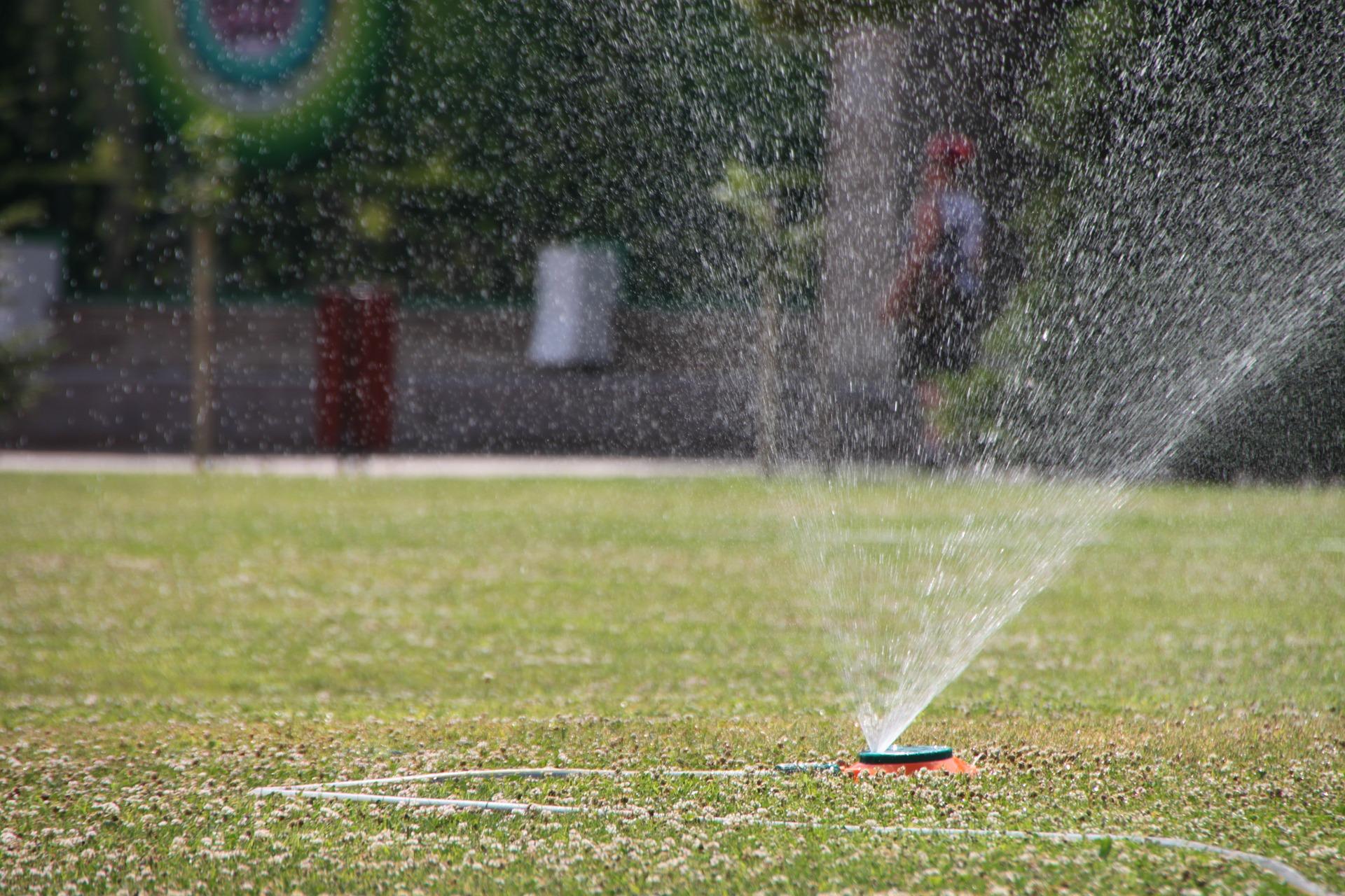 Water Sprinkler to Keep the Garden Blooming