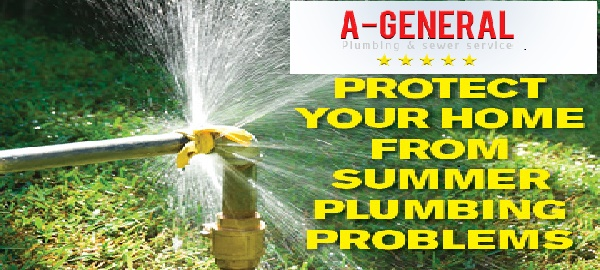 Be Ready for Summer, Avoid Plumbing Issues