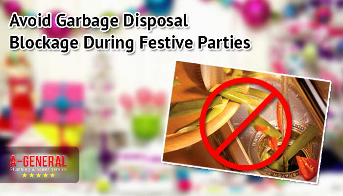 Avoid Garbage Disposal Blockage During Festive Parties
