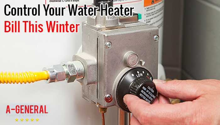 Tips to Control Your Water Heater Bill This Winter