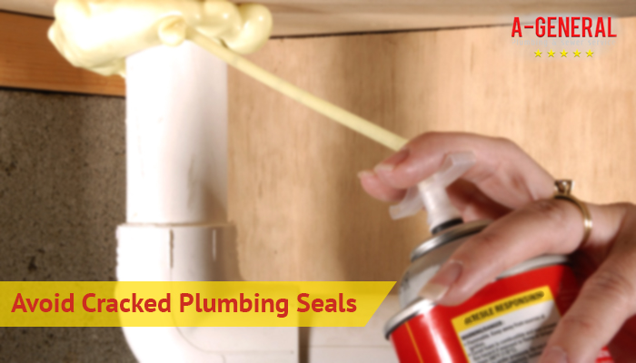 Tips To Avoid Cracked  Plumbing Seals