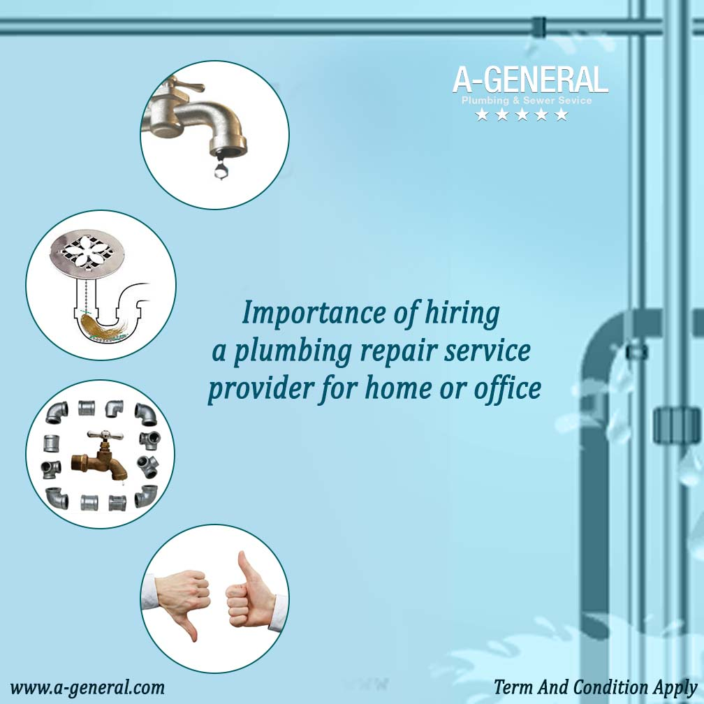 importance of hiring a plumbing repair service provider for home or office in nj