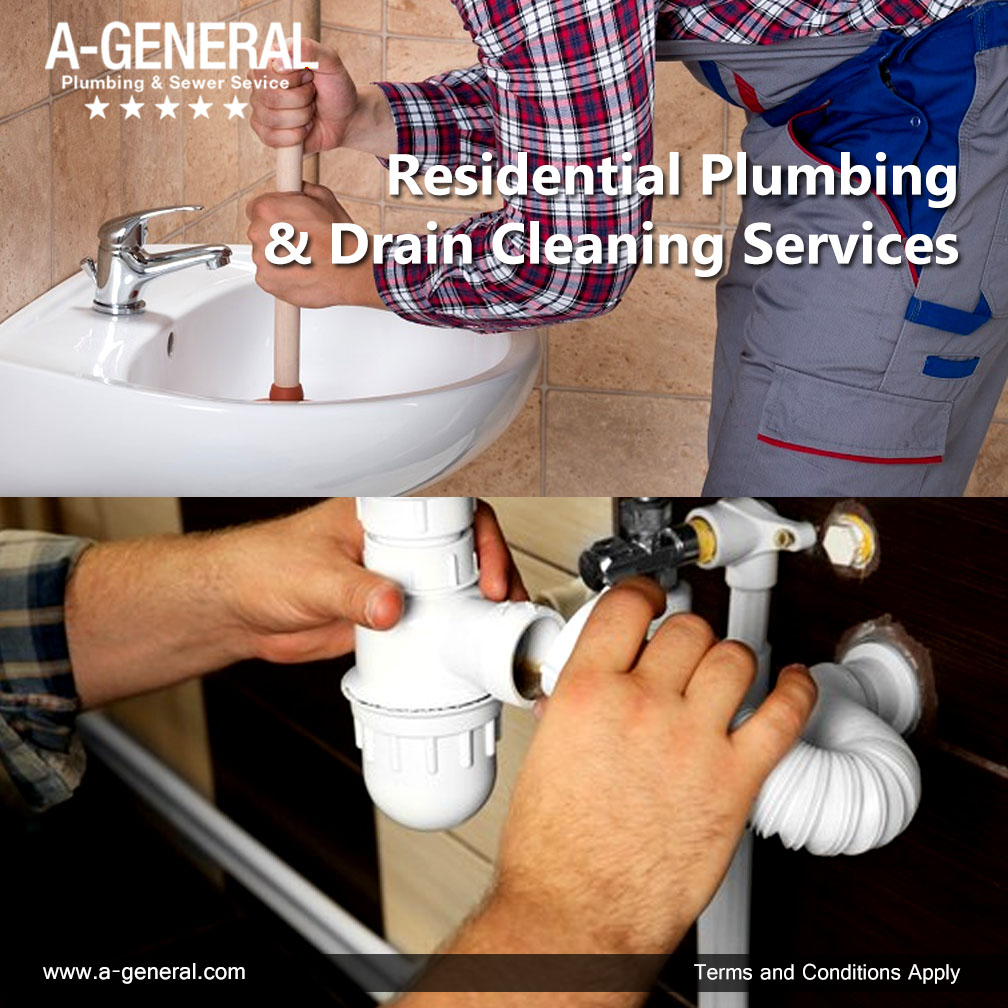 Residential Plumbing & Drain Cleaning Services