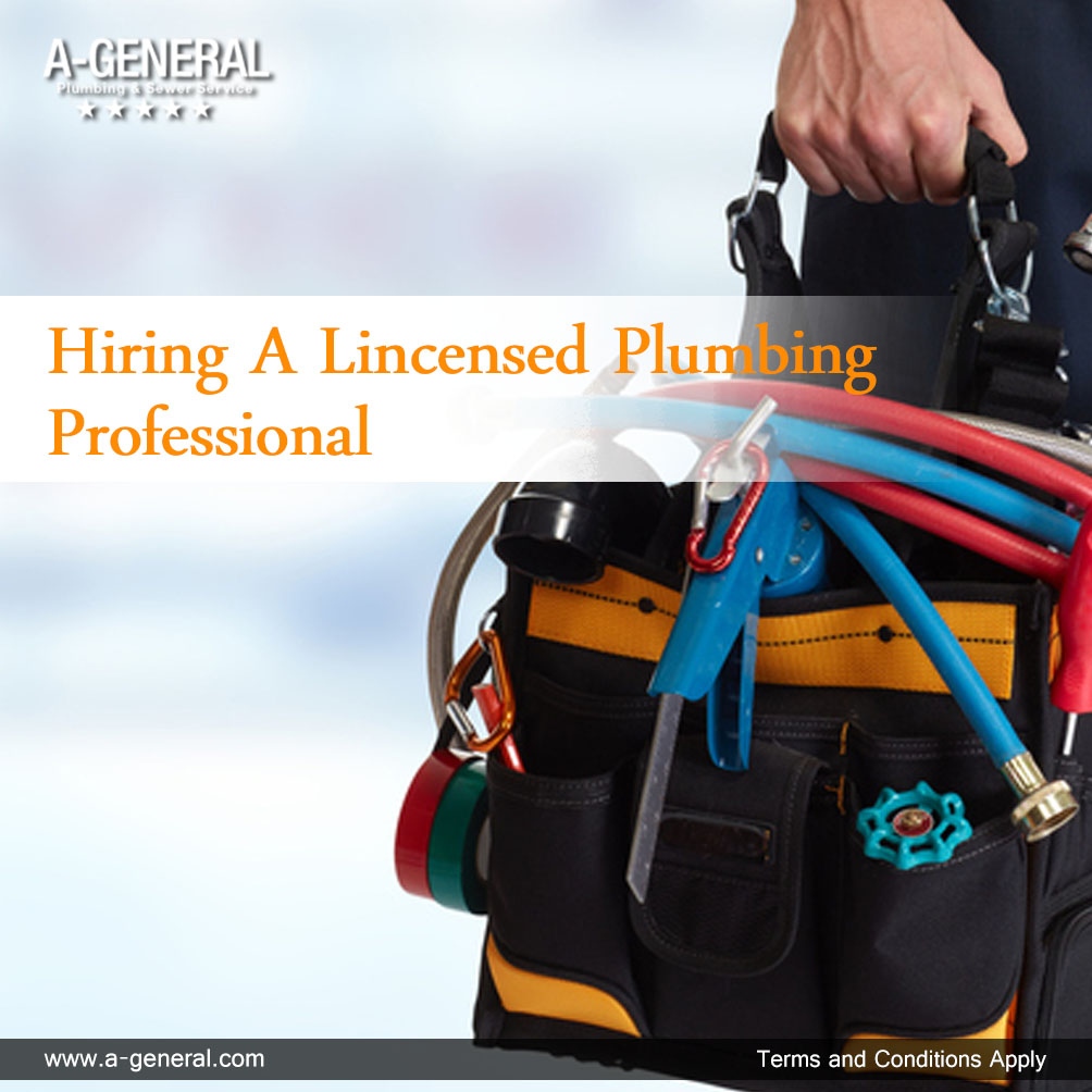 Plumbing Issues? Always Opt For A Licensed Professional