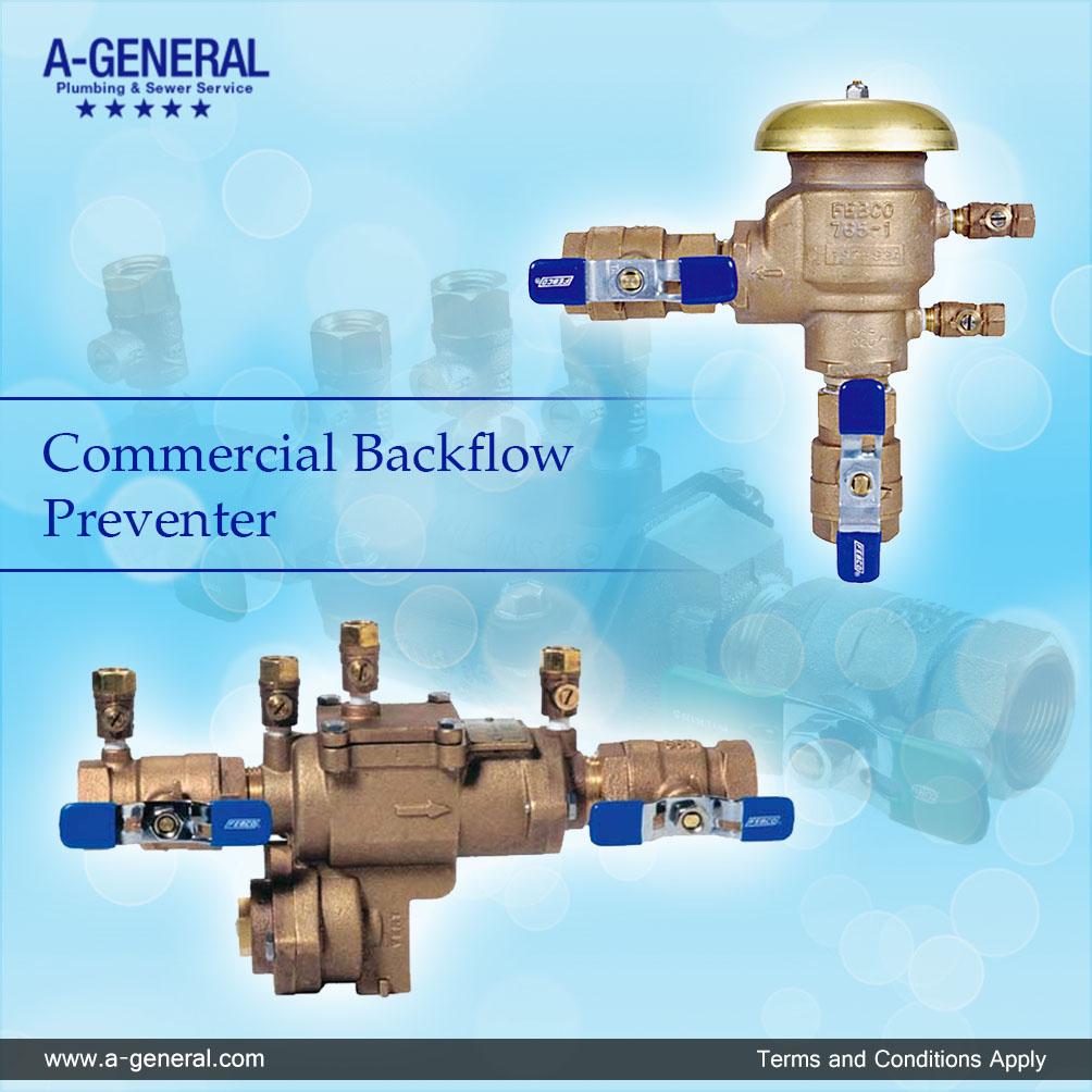 Commercial Backflow Preventer