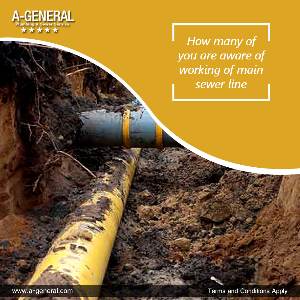 How many of you are aware of working of main sewer line?