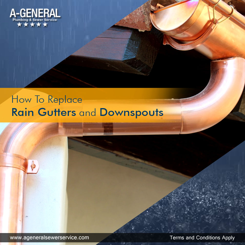 How To Replace Rain Gutters and Downspouts