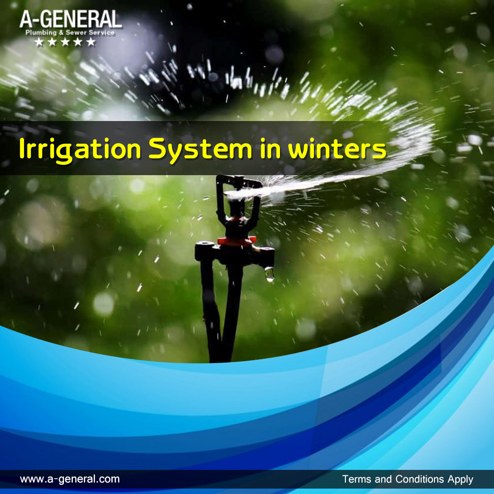 It's Winter Time: Prepare Your Irrigation System!