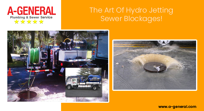 A-General & The Art Of Hydro Jetting Sewer Blockages!