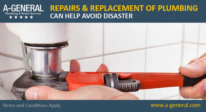 How Repairs And Replacement Of Plumbing In Time Can Help Avoid Disasters!