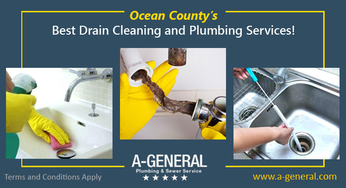 Ocean County's best drain cleaning and plumbing services!
