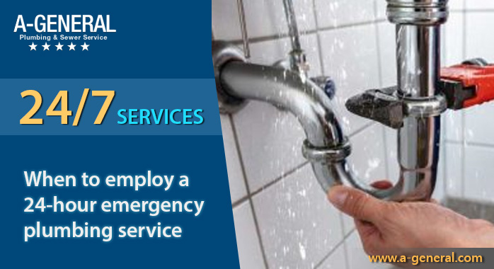 How Does One Know When To Employ a 24-Hour Emergency Plumbing Service?