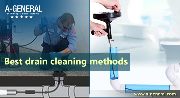 What Are The Best Drain Cleaning Methods?