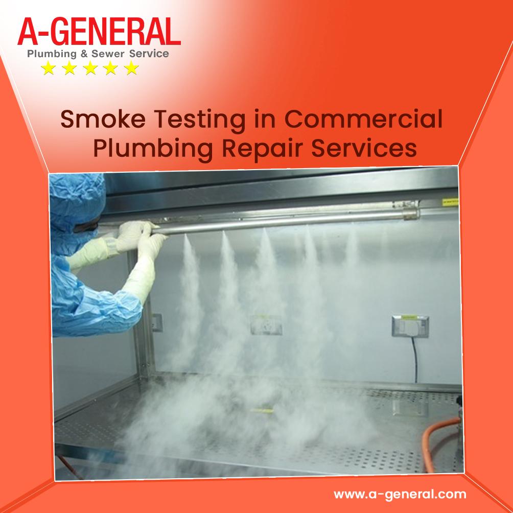 Smoke Testing in Commercial Plumbing Repair Services