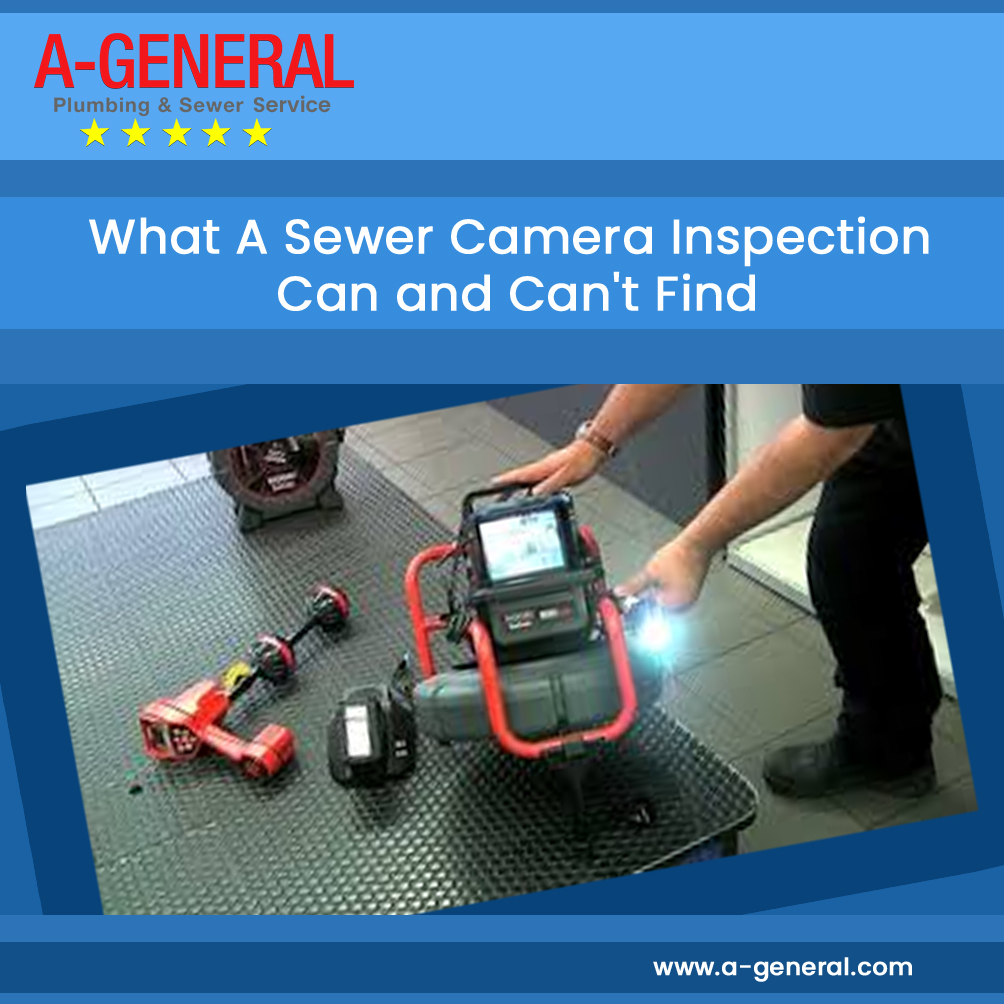 What A Sewer Camera Inspection Can and Can't Find