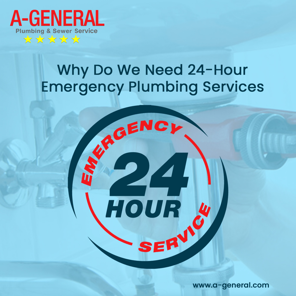 Why Do We Need 24-Hour Emergency Plumbing Services