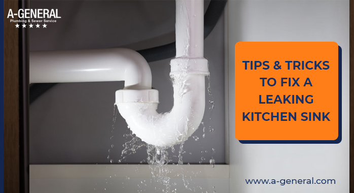 Tips And Tricks To Fix a Leaking Kitchen Sink