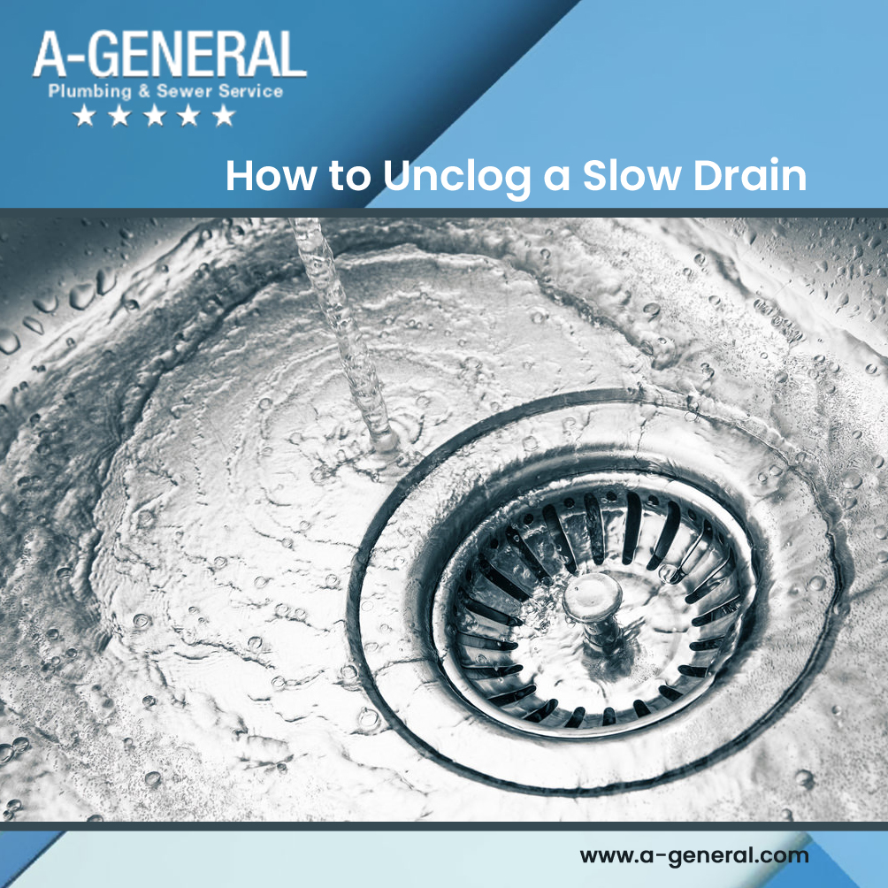 How to Unclog a Slow Drain